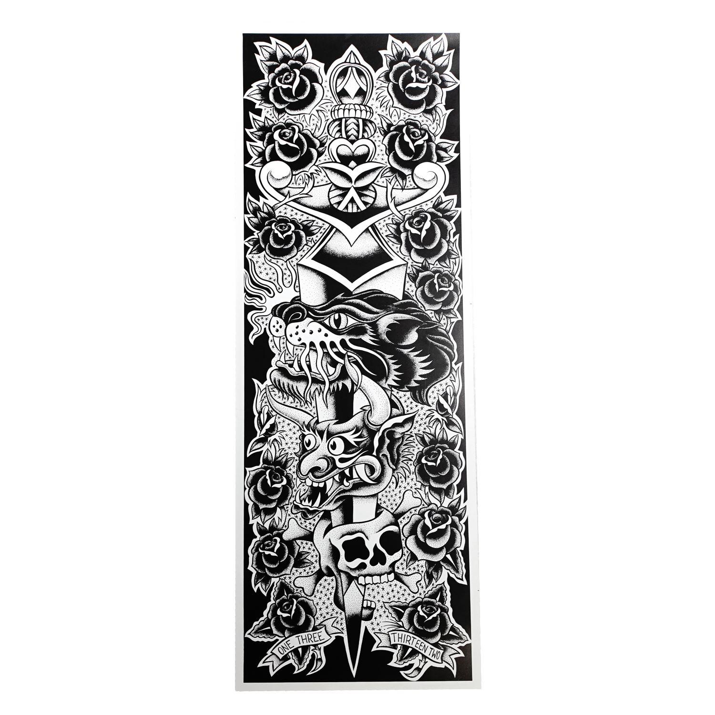 "Kingpin Tattoo: Dennis Mcphail Small Poster 10"" X 28"""