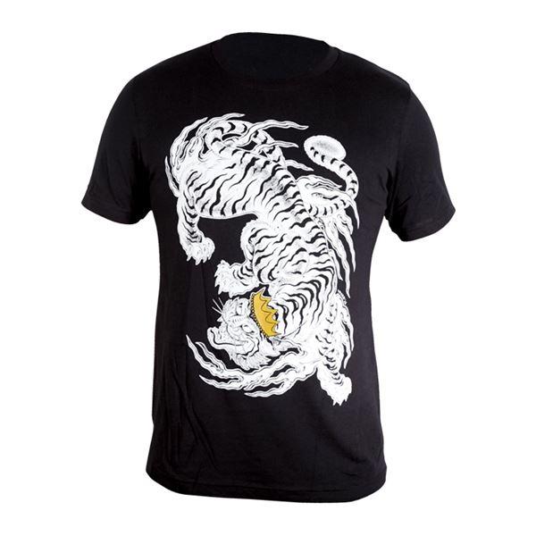 Kingpin Tattoo: Kingpin Tiger Shirt - Timothy Hoyer Design