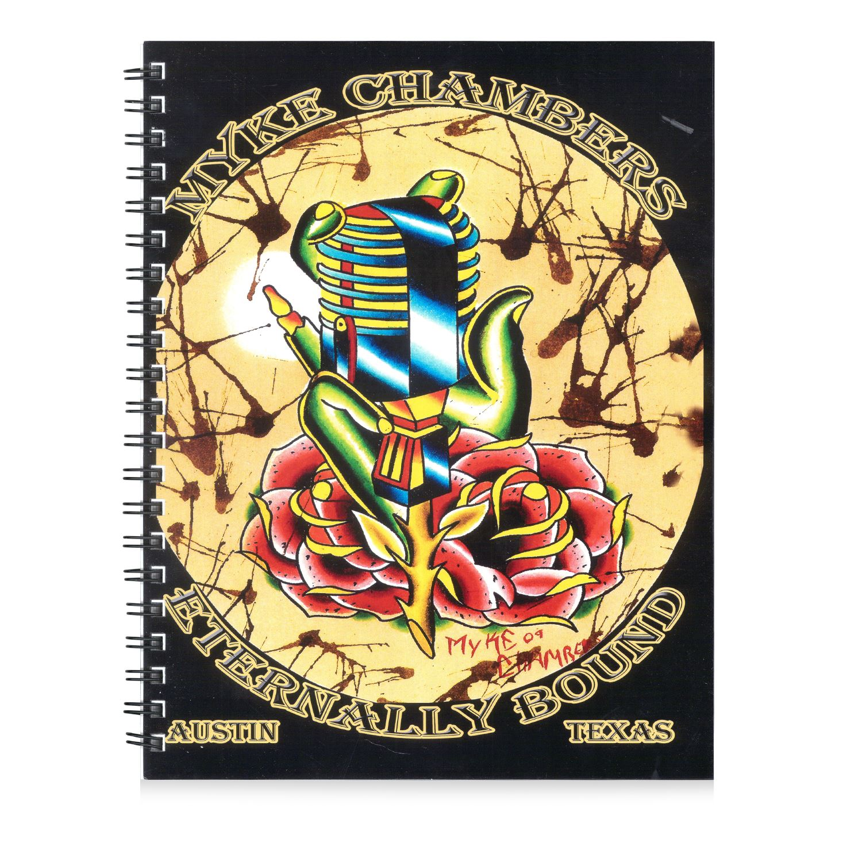 Kingpin Tattoo: Myke Chambers Eternally Bound Sketchbook