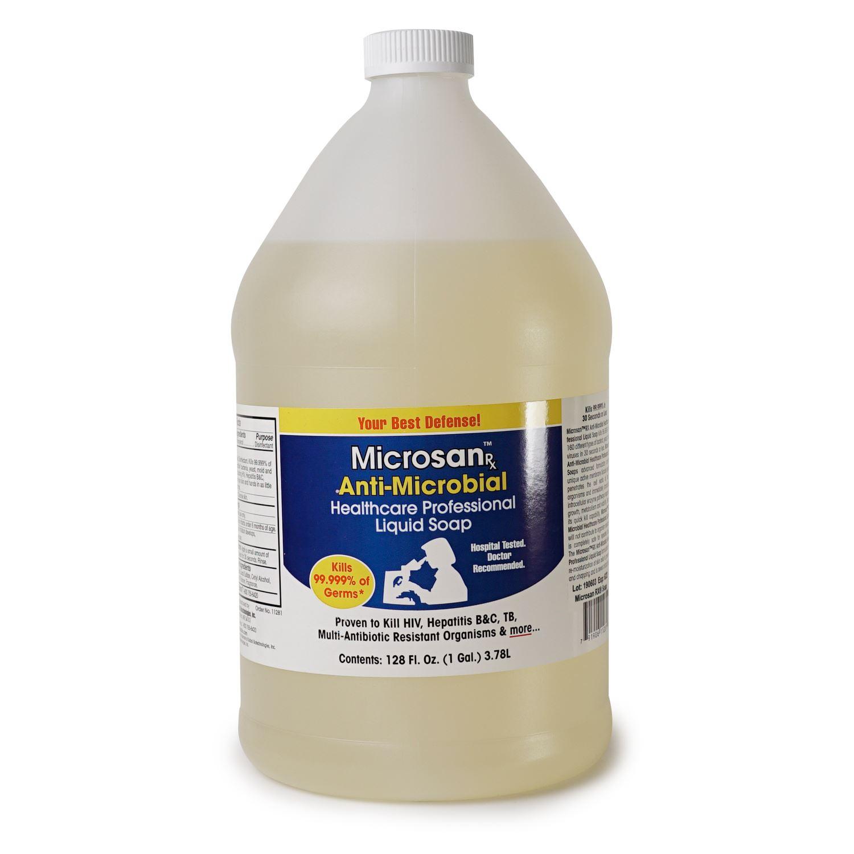 Kingpin Tattoo: Microsan Antimicrobial Liquid Soap