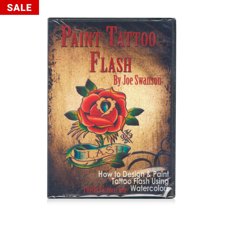 Kingpin Tattoo Supply: Paint Tattoo Flash DVD By Joe Swanson