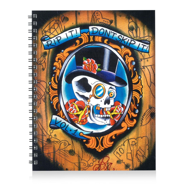 Kingpin Tattoo Supply: Rip It, Dont Skip It! Volume #1 By Richard Arent