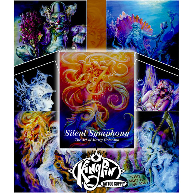 Kingpin Tattoo: Silent Symphony By Marty Holcomb