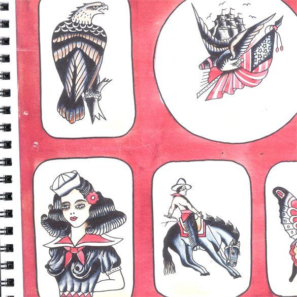 Kingpin Tattoo Supply: Bert Grimm Flash Book #3