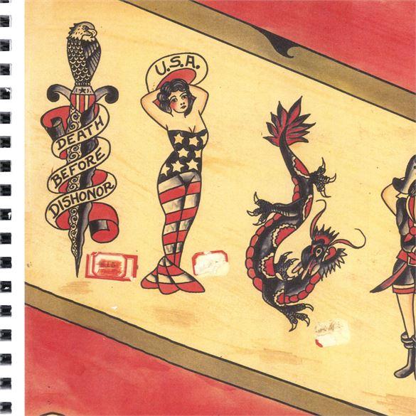 Kingpin Tattoo: Bert Grimm Flash Book #3