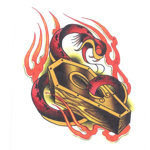 Kingpin Tattoo Supply: Jeremy Randolph Mini Book