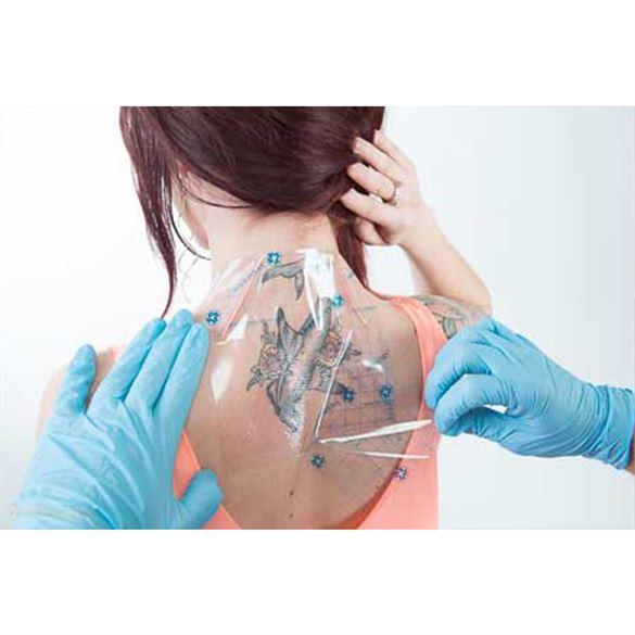Kingpin Tattoo Supply: Saniderm Tattoo Adhesive Film Dressing Personal Pack