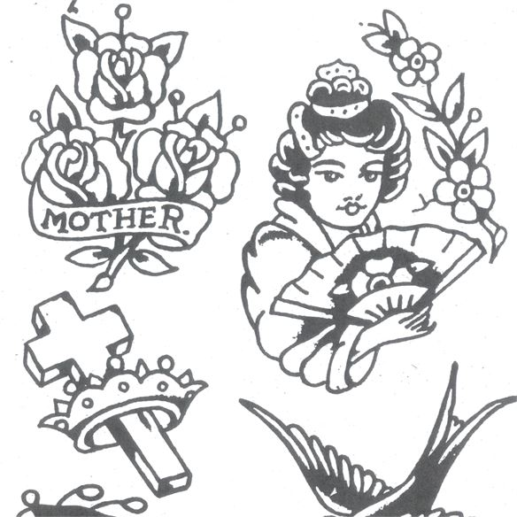 Kingpin Tattoo Supply: Jonesy Williams Jones Vintage Flash Book